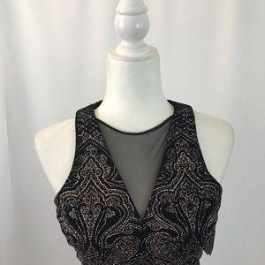 Short glitter knitted dress (#71)